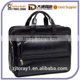 Wholesale Black Used Skin Leather Briefcase for Men