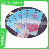 The best selling air refresh car air refresh paper car air refresh with Logo printing IC-947