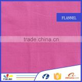 Hot Sale Factory Stock 100% Cotton Yarn Dyed Flannel Fabric for Blanket