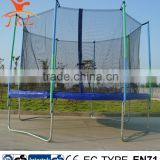 14ft trampoline elastic band with safety enclosure for sale