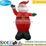DJ-XT-50 inflatable santa dance in the wind wholesale Christmas decoration