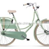 2016 new design retro city bike with basket/vintage city bike/dutch bike M-B856                                                                         Quality Choice