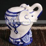 Promotional Gifts Elephant Shaped Ceramic Coin Bank (LJ1041)