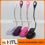 Flexible LED Book Light With Clip For student Kindle eBook Tablet PC Reading Lights For Beds