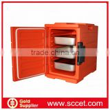 Plastic Insulated transport carriers with GN Pans for catering