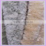 short pile super soft knit jacket pilot animal fur upholstery fabric for antique furniture