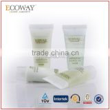top quality shampoo tubes packing liquid bath soap container with caps