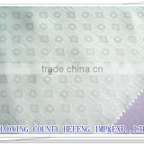 rayon/viscose fabric with foursquare jacquard fabric(used for uniform garment)