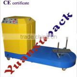 YK-XL01 LUGGAGE WRAPPING MACHINE,BAGGAGE WRAPPING MACHINE,AIRPORT STRETCH FILM WRAPPER SIMPLE PACKAGE OR WOODEN PACKAGE