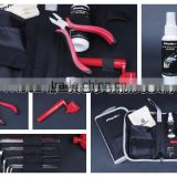 musical instrument care kit guitar plier tool kit care kit guitar polish cloth string winder six-edge wrenche