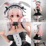 Bunny anime girl, kawayi bunny anime girl, bunny anime figures