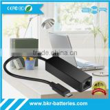 Mini USB Ethernet Adapter USB 3.1type c male to 10/100/1000 giga Lan Network Ethernet Adapter Card For Apple MacBook