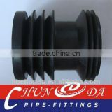 Black Concrete pump rubber cleaning piston