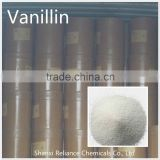 Flavoring Vanillin and Ethyl Vanillin Powder FCC
