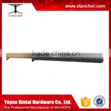 nylon hammer drive anchor/nylon with nail anchor/with screw