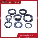 KINGMOTO 20151009-17 Double cartridge mechanical seal(HFJ2318A) with back to back,balanced and dual compensation ring