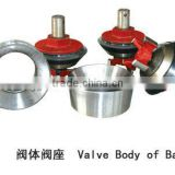 F series valve assy-valve body and valve seat