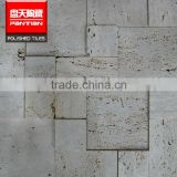 Golden select mosaic wall tile flower marble mosaic caesar stone tile                                                                                                         Supplier's Choice