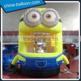 inflatable money booth/inflatable minions/outdoor advertising customized inflatable tent for promotion