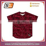 Stan Caleb Sublimation 100% Mesh Polyester fashion baseball jersey cheap blank baseball jerseys