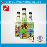 China factory supreme shrinkable heat sensitive customizable water proof spirit bottle labels with printing