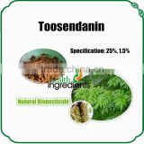 Natural biopesticide Triterpenoid Toosendanin for agricultural use