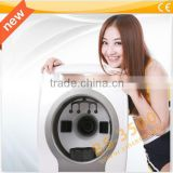 Newest 3D magic mirror uv light facial skin analysis machine