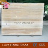 High Quality Factory Price dark brown wooden grain onyx marble