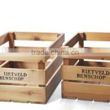 classical wooden fruit storage box wooden box wooden packaging wholesale