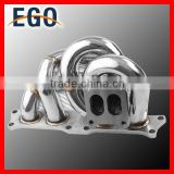 STAINLESS TURBO TURBOCHARGER EXHAUST MANIFOLD 86-93 FOR TOYOTA CELICA /91-95 MR2 3SGTE