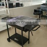 Charcoal BBQ Barbecue Grill GS Certification new barrel table BBQ grills