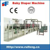High-quality Manufacturing RF-NKB Full Automatic Disposable Baby Diaper Making Machine