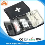 car military mini first aid kit, promotion custom first aid kit box, travel pocket first aid kit