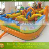 Commercial high quality inflatable obstacle course for sale/lovely kids playing center obstacle course