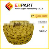 EBPART Heavy Construction Machine chains undercarriage track chain assembly for bulldozer
