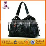 Snake print grain handbag ladies animal print handbags lady sexy handbags