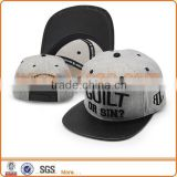 Flat Visor PU Leather Brim Hip Hop Snap back Cap Hats