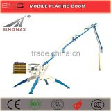 HOT! 13m 15m 17m 18m Mobile Hydraulic Concrete Placing Boom Spider Placing Boom Distributor for sale in Vietnam
