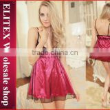 2015 wholesale hot fashion sexy lingerie sexy-adult-girl-babydoll-open