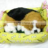snoring perfect petzzz breathing sleeping fur real animal toy dogs