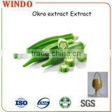 Food grade okra powder fresh okra extract