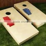 bean bag toss game board corn hole game board