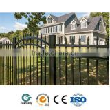 Aluminum fence for garden