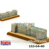 The British Buckingham Palace world famous 3d building model