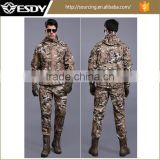 2017 Tactical Softshell Waterproof Breathable Hunting Jacket and Pant Mlitary Outdoor Combat Uniform