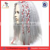 Newest long braid gray full lace front wigs women wholesale PGWG1901