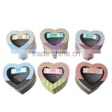 Paper Party Gift Boxes Heart At Random Alphabet Pattern
