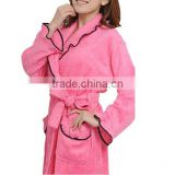 wholesale high quality bamboo women bathrobe , Eco-friendly robes, super soft bathrobes