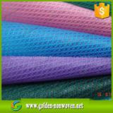 cross pattern Spunbond PP Non Woven Fabric pp cambrelle shoes interlining material