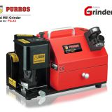 PURROS PG-X3 End Mill Grinder, end mill sharpener grinding tange 4-14mm fast & easy operation
